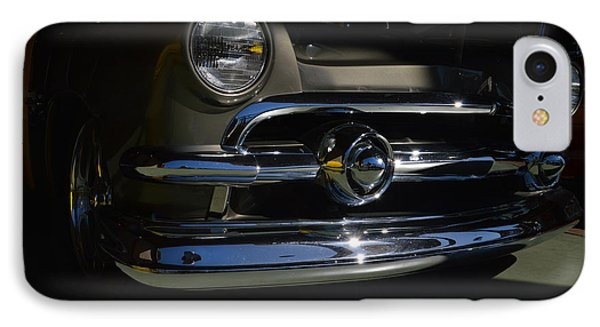 IPhone Case featuring the photograph 51 Ford Woody Nose by Bill Dutting
