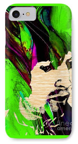 Eric Clapton Collection IPhone Case by Marvin Blaine