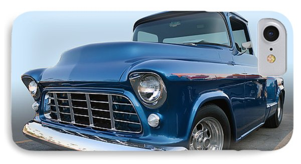 55 Chev Stepside IPhone Case by Bill Dutting