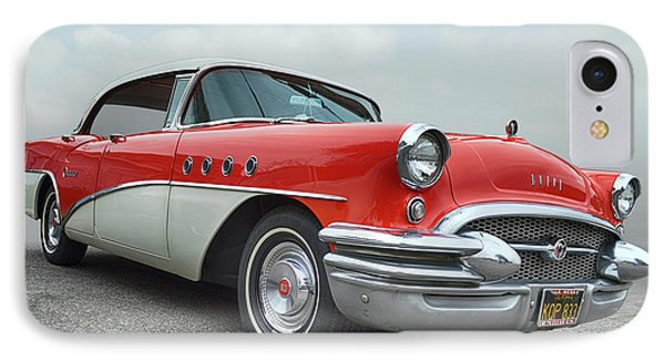 56 Buick Century IPhone Case by Bill Dutting