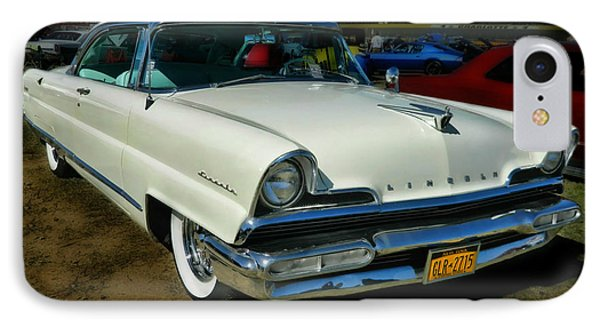 '56 Lincoln IPhone Case by Victor Montgomery