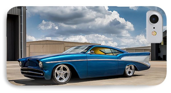 '57 Chevy Custom IPhone Case by Douglas Pittman