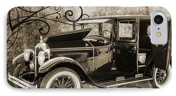 1924 Buick Duchess Antique Vintage Photograph Fine Art Prints 105 IPhone Case