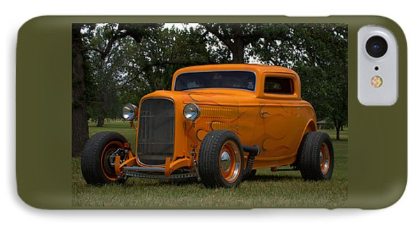 IPhone Case featuring the photograph 1932 Ford Coupe Hot Rod by Tim McCullough