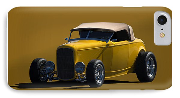 IPhone Case featuring the photograph 1932 Ford Roadster Hot Rod by Tim McCullough