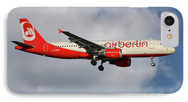 Berlin iPhone 7 Case - Air Berlin Airbus A320-214 by Smart Aviation