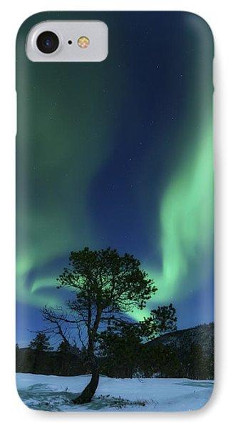 Aurora Borealis, Forramarka, Troms IPhone Case