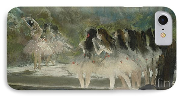 Ballet At The Paris Opera IPhone Case by Edgar Degas