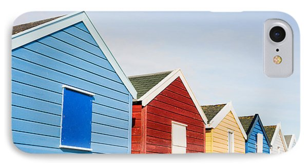 Beach Huts IPhone Case by Tom Gowanlock