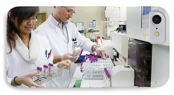 Blood Analysis IPhone Case