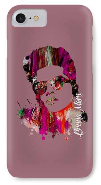 Bruno Mars Collection IPhone 7 Case by Marvin Blaine