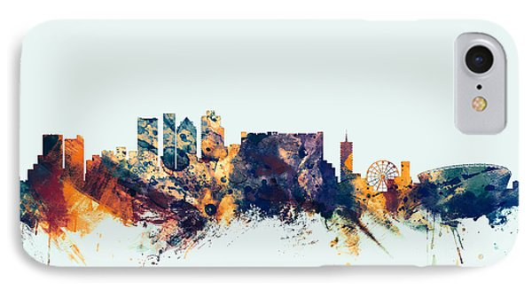 Cape Town South Africa Skyline IPhone Case