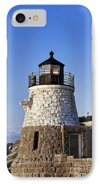 Castle Hill Lighthouse Phone Case by John Greim