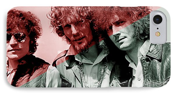 Cream Eric Clapton Jack Bruce Ginger Baker IPhone Case by Marvin Blaine
