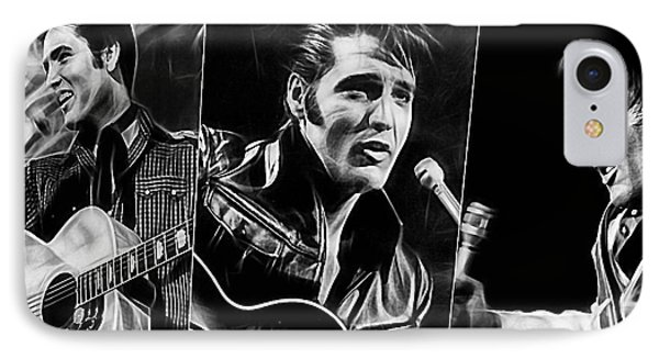 Elvis IPhone 7 Case by Marvin Blaine