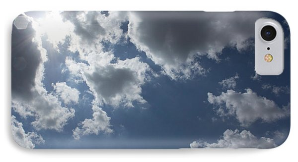 IPhone Case featuring the photograph 6-gon Boken Sky by Megan Dirsa-DuBois