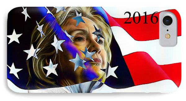 Hillary Clinton 2016 Collection IPhone Case