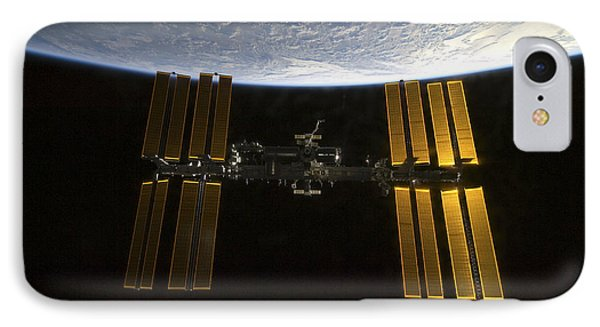 International Space Station IPhone Case by Stocktrek Images