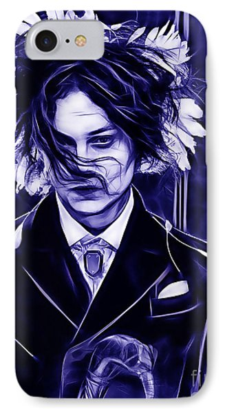 Jack White Collection IPhone Case by Marvin Blaine