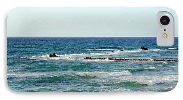 Jaffa Beach 4 IPhone Case by Isam Awad