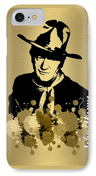 John Wayne Collection IPhone Case by Marvin Blaine