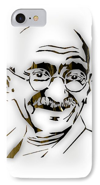 Mahatma Gandhi Collection IPhone Case by Marvin Blaine