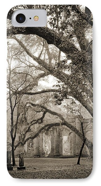 Old Sheldon Church Ruins Phone Case by Dustin K Ryan
