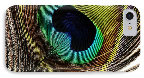 Peacock Feathers Phone Case by Mary Van de Ven - Printscapes