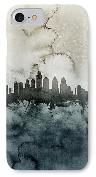 Philadelphia Pennsylvania Skyline IPhone 7 Case