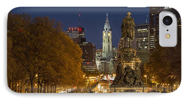 Philadelphia Skyline Phone Case by John Greim