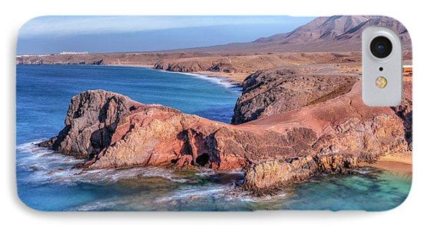 Playa Papagayo - Lanzarote IPhone Case by Joana Kruse
