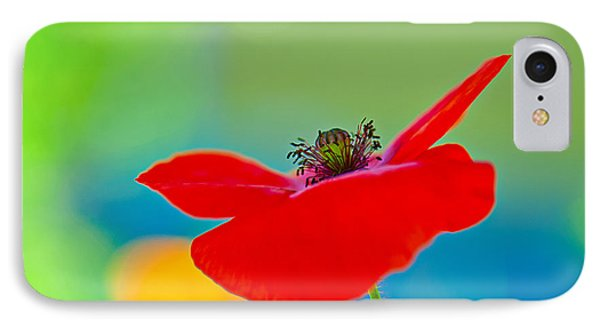 Poppy IPhone Case by Silke Magino