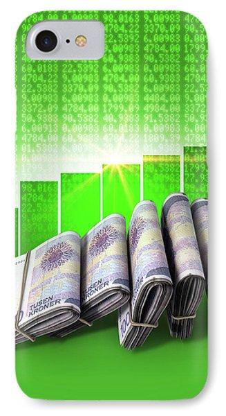 Positive Market Money IPhone Case by Allan Swart