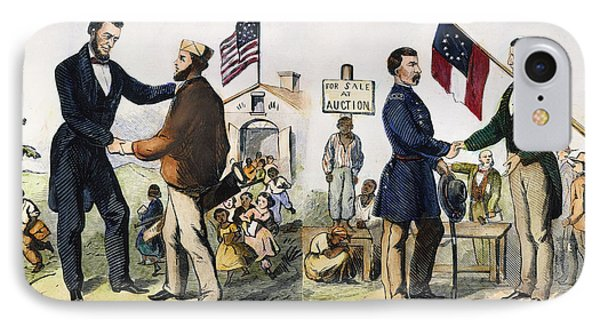 Presidential Campaign, 1864 Phone Case by Granger