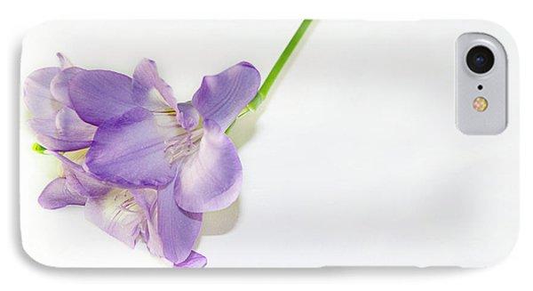 Purple Freesia IPhone Case