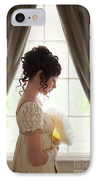 Regency Woman At The Window IPhone Case