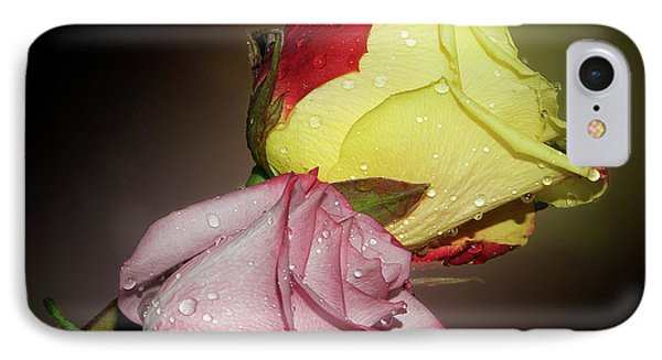 IPhone Case featuring the photograph Roses by Elvira Ladocki