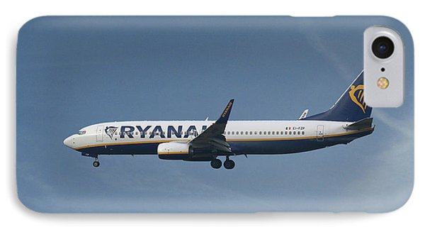 Jet iPhone 7 Case - Ryanair Boeing 737-8as  by Smart Aviation