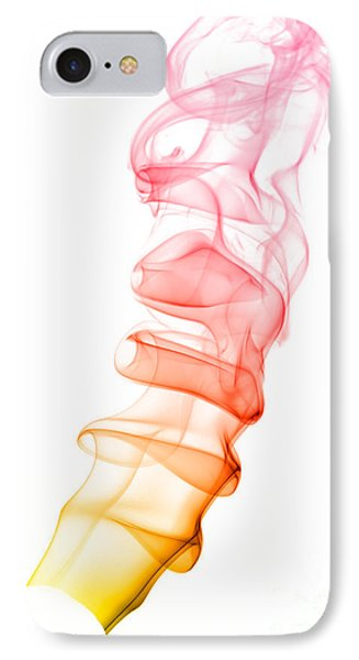 IPhone Case featuring the photograph smoke XIX by Joerg Lingnau