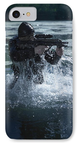 Special Operations Forces Soldier Phone Case by Tom Weber