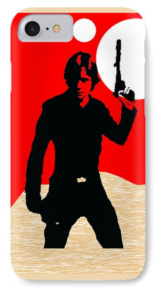 Star Wars Luke Skywalker Collection IPhone Case by Marvin Blaine