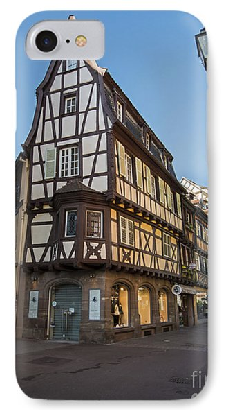 Streets Of Colmar IPhone Case by Yefim Bam