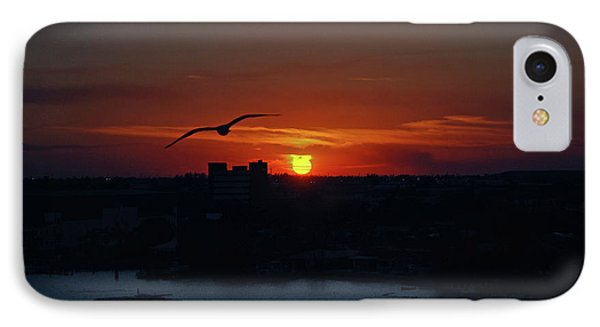 IPhone Case featuring the photograph 6- Sunset by Joseph Keane