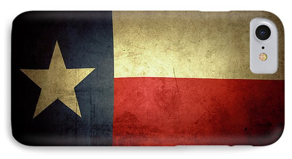 Texas Flag IPhone Case by Les Cunliffe