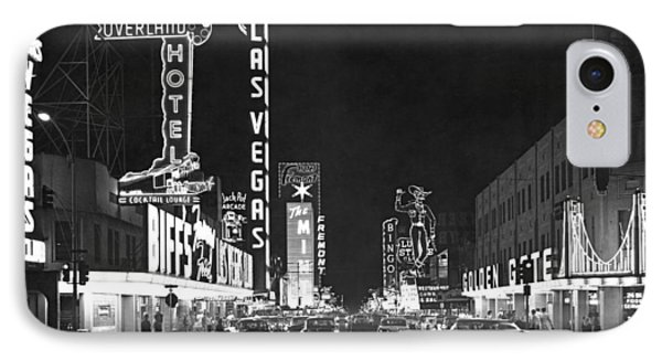 The Las Vegas Strip IPhone Case by Underwood Archives