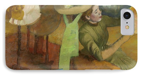 The Millinery Shop IPhone Case by Edgar Degas