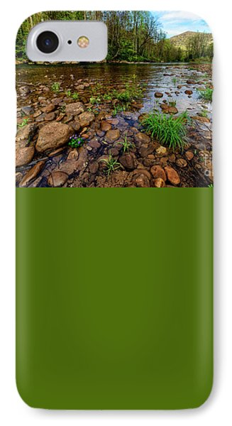 Williams River Spring IPhone Case by Thomas R Fletcher