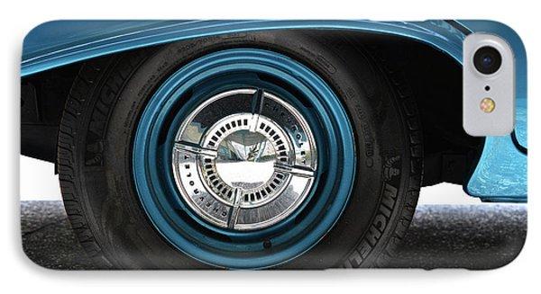 61 Impala Wheel IPhone Case by David Lee Thompson