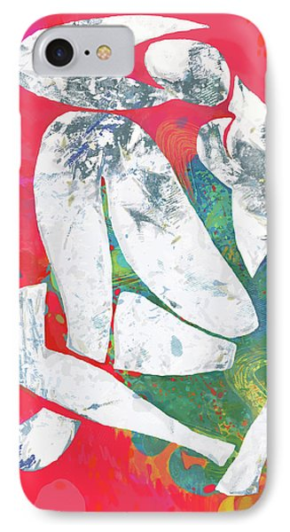Nude Pop Stylised Art Poster IPhone Case by Kim Wang