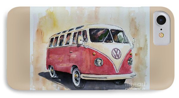 '63 V.w. Bus IPhone Case by William Reed